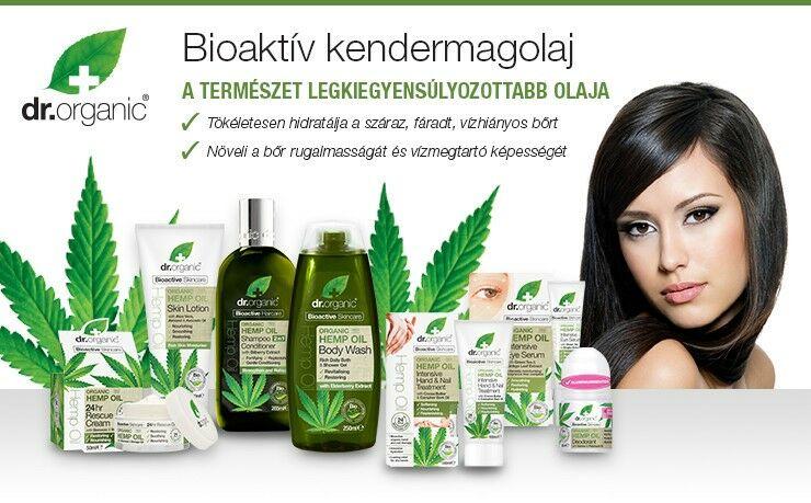 Dr. Organic Kendermagolajos termékcsalád