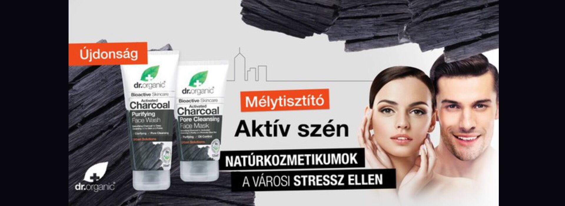 Dr. Organic Aktívszenes kozmetikumok