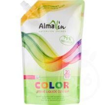 ALMAWIN Color folyékony mosószer koncentrátum színes ruhákhoz hársfavirág kivonattal -20mosásra