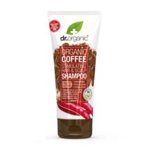 Dr. Organic Haj- és fejbőrstimuláló sampon bio kávéval