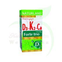 NATURLAND D3+K2+CA FORTE TRIO