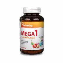 Vitaking mega 1 multivitamin family tabletta 120 db