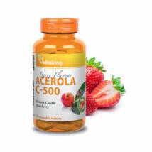 Vitaking acerola c-vitamin rágótabletta 500mg 40 db