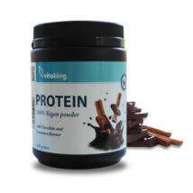 Vitaking vegán protein por csokoládé fahéj ízű 400 g
