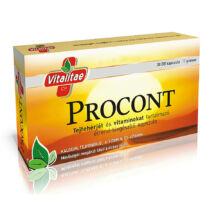 VITALITAE Procont, 30 db kapszula (17g)