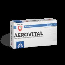 Aerovital légzőrendszert segítő étrend-kiegészítő, 30 db kapszula