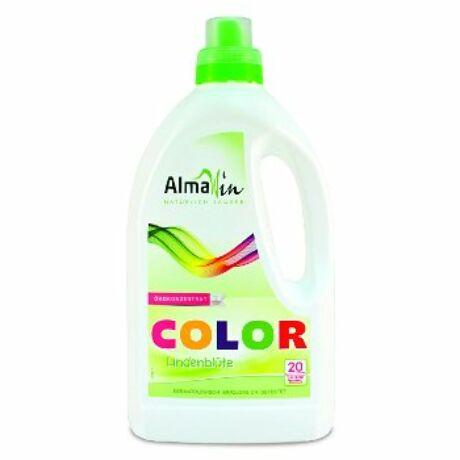 ALMAWIN Color Öko folyékony mosószer koncentrátum színes ruhákhoz Hársfavirág kivonattal - 20 mosásra