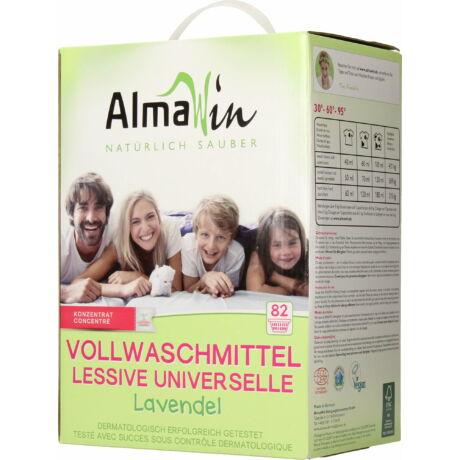 ALMAWIN Általános mosópor koncentrátum - 82 mosásra levendulával