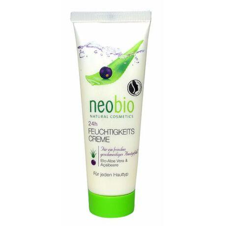 NEOBIO 24 órás Hidratáló krém – BIO Aloe verával és BIO Açai bogyóval