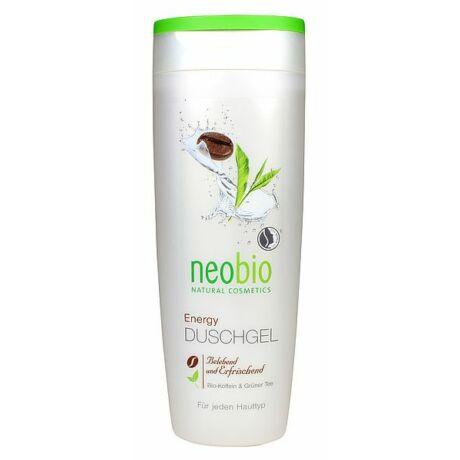 NEOBIO Tusfürdő Energy – BIO Koffeinnel és BIO Zöld teával