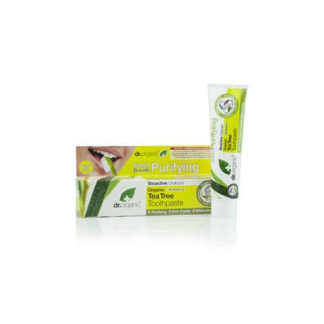 Dr. Organic Fogkrém bio teafaolajjal