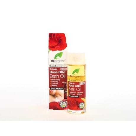 Dr. Organic Fürdőolaj  bio damaszkuszi rózsaolajjal