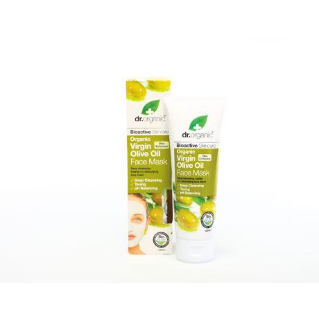 Dr. Organic Arcápoló pakolás bio olívaolajjal