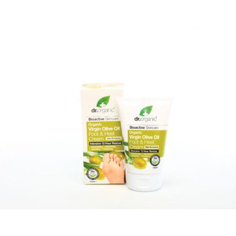 Dr. Organic Láb & sarokápoló krém bio olívaolajjal