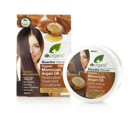 Dr. Organic Regeneráló hajpakolás marokkói bio argánolajjal