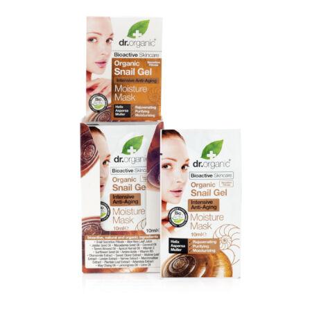 Dr. Organic Bioaktív csigagél hidratáló arcpakolás intenzív öregedésgátló hatással