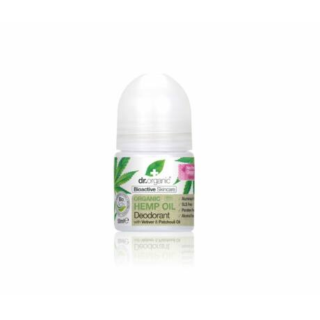 Dr. Organic Alumíniummentes golyós dezodor bioaktív kendermagolajjal