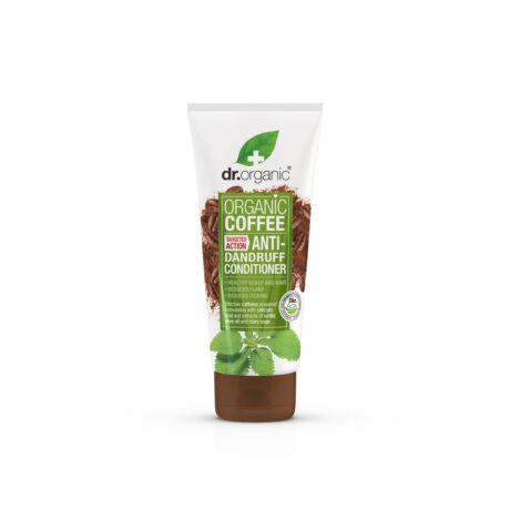 Dr. Organic Korpásodás elleni hajkondicionáló bio kávéval