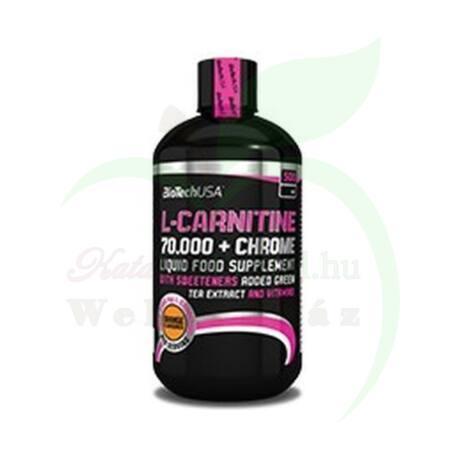 BIOTECH L-CARNITINE+CHROME OLDAT GRAPEFRUIT