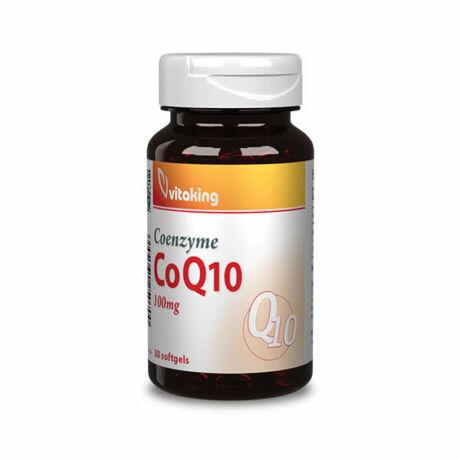 Vitaking q10 koenzim 100 mg kapszula 30 db
