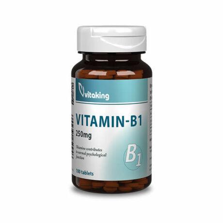 Vitaking b-1 vitamin 250mg tabletta 100 db