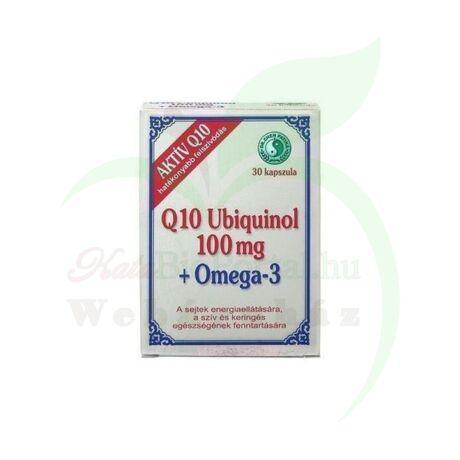 DR.CHEN Q10 UBIQUINOL 100MG+OMEGA3 KAPSZULA