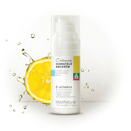 Medinatural C-vitaminos hidratáló arckrém 150 ml