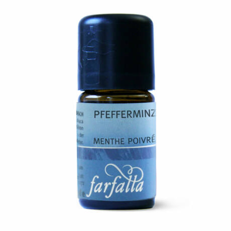 FARFALLA Pfefferminze, demeter 10 ml
